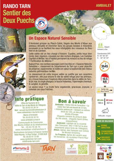 Fiche Rando Tarn Sentier urbain Lavaur