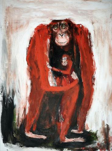 Christiane Holsten: Affenkunst XI