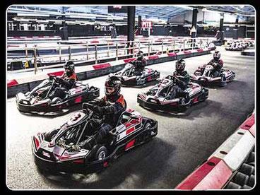 imagen de karts en una competición