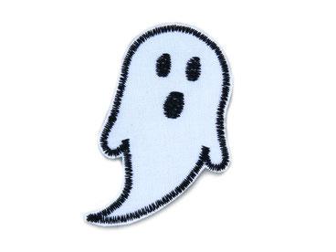 Bild: Gespenst Geist Bügelbild Applikation Patch zum aufbügeln