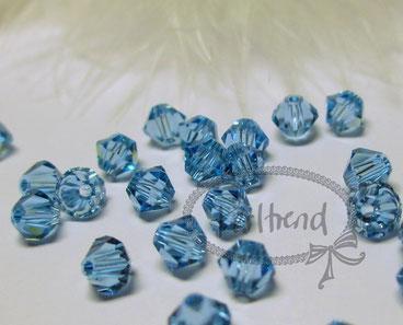 Bicone Bead Swarovski Crystals www.perltrend.com Perlen Pearls Crystal Luzern Schweiz Online Shop Schmuck Design