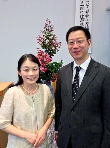 金井牧師夫妻