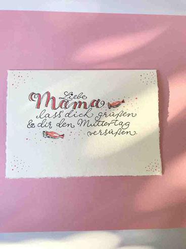 Handlettering-Karte-Muttertag