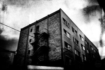 black and white, noir et blanc, chaos, art, street photography, CarCam, Leica