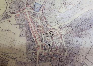 Stadtplan 1823