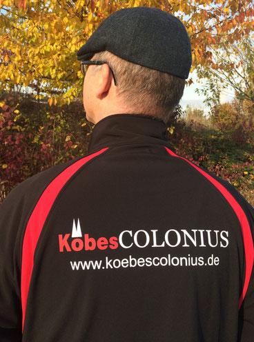 KöbesColonius Köln Stadtführer mit Jacke