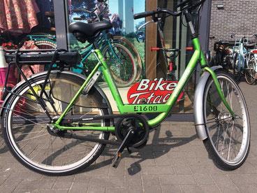 Batavus Transport met ombouwset van Fiets Ombouwcentrum Nederland