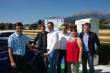 Aschbacher (Astra) Oberzaucher, Klinar, Koch, Stranner, Guggenberger (AAE) Fotos: MG Seeboden a. M.S.