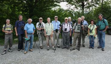 Helfertreffen am Flachsee (alle Bilder: Gottfried Hallwyler)