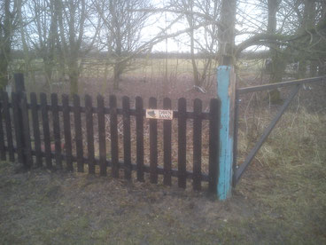 And as you see in the pictures, some barrier gates and fencing.