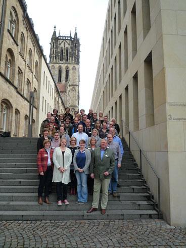 """Teilnehmer des Strategieprozesses """"Du bist DRK"""" vom DRK Kreisverband Münster e.V. Bildquelle: IZGS der EHD"""