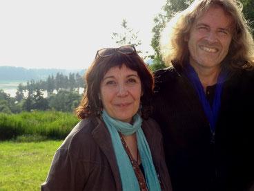 PAKOUNE et Michel Garnier à Bugarach