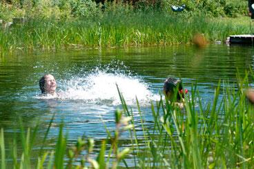 Calidad del agua en piscinas naturales y naturalizadas