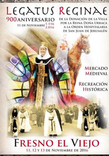 Programa del Mercado Medieval de Fresno el Viejo.