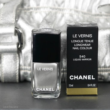 CHANEL • LIQUID MIRROR 540 • Collection Libre Synthetic de CHANEL • Holiday 2016