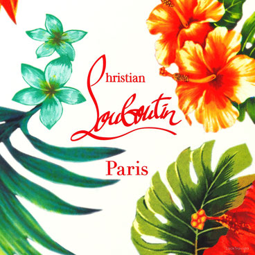 Christian Louboutin • VERY PRIVE • HAWAII KAWAI I Collection spring / summer 2016