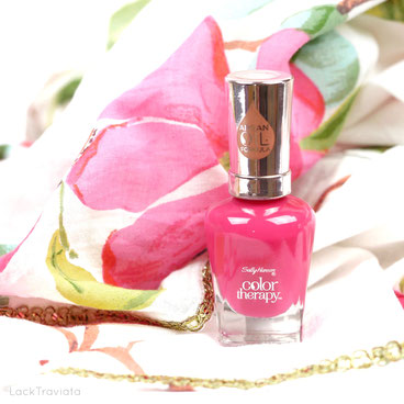 """Sally Hansen • Pampered In Pink • color therapy Spring Collection """"Spring is in the air"""" 03/2017"""