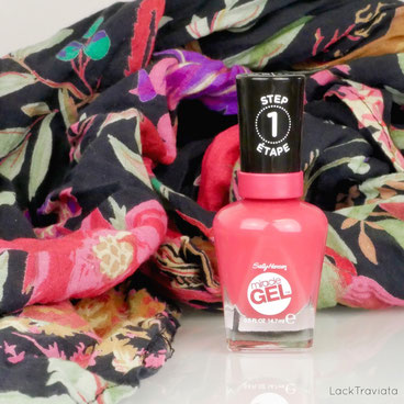 Sally Hansen • Proper P-rose 256 • Travel Stories Collection summer 2017