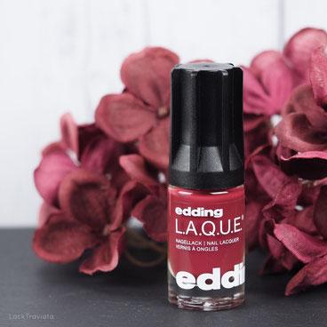 edding L.A.Q.U.E. • bright burgundy