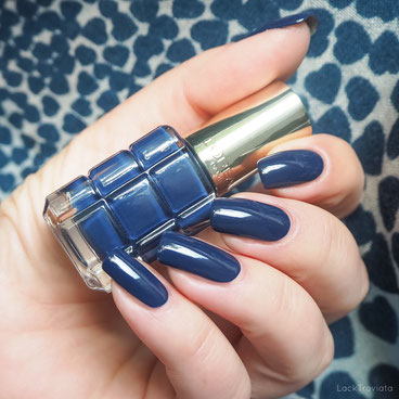 swatch L'ORÉAL BLEU ROYAL 668 Color Riche Le Vernis