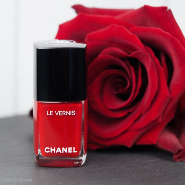 CHANEL • ROUGE PUISSANT 528 • Le Rouge N° 1 Collection fall 2016