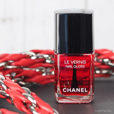 CHANEL • ROUGE RADICAL 530 • Le Rouge N° 1 Collection fall 2016