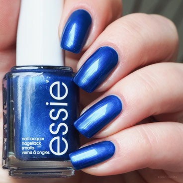 swatch essie aruba blue