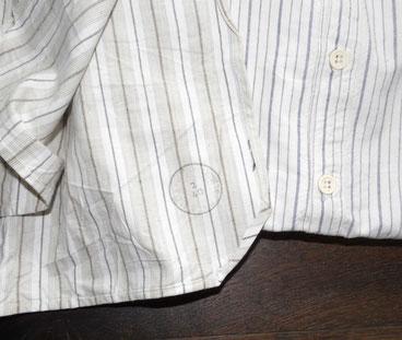 Tampon 1940 sur une chemise modèle 1878