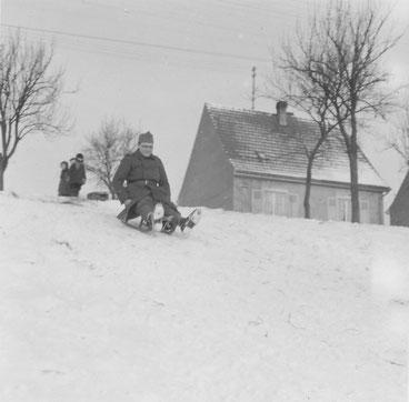 Dans les environs de Brumath, début 1940