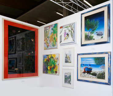 Stand B9 ( Foto by Laura Adreani, Art Director Galleria Mentana in Firenze )