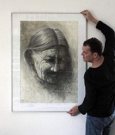 Künstler, Andreas Noßmann, tOG, take OFF GALLERY, Düsseldorf, Galerie,  Portraitfoto