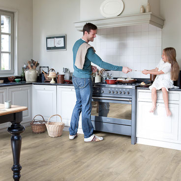 Quick·Step Creo Beige Eik Louisiana | Elders € 15,99 p/m² | Premium Floors € 14,39 p/m²