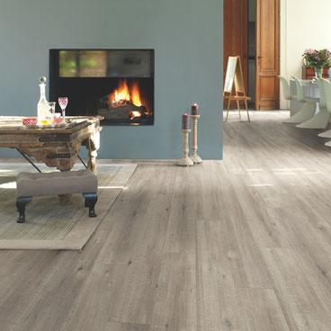 Quick·Step Impressive Eik Grijs met zaagsnede |    Elders € 25,99 p/m²   | Premium Floors € 23,39 p/m²