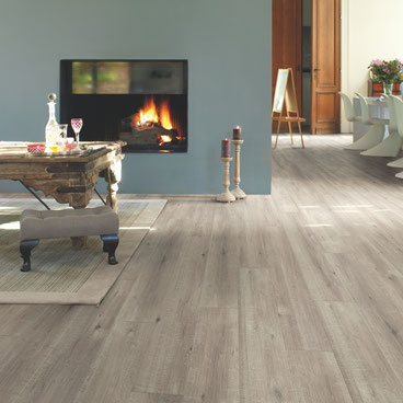 Quick·Step Impressive Ultra Eik Grijs met zaagsnede |    Elders € 36,99 p/m²   | Premium Floors € 33,29 p/m²