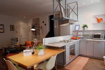 I BORGHI - 4 persone - Bellissimo appartamento di design nel centro storico, con 2 biciclette per gli ospiti e wi-fi