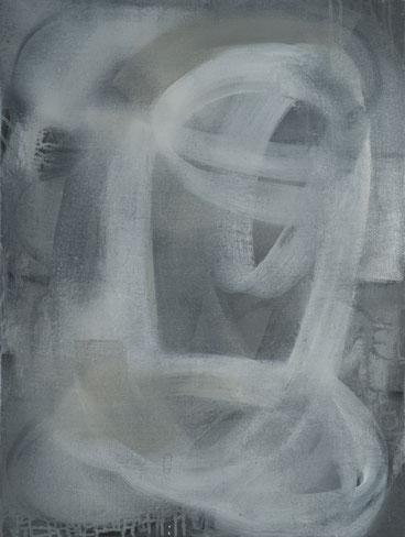 Loops 6, Acryl auf Leinwand, 80x60cm