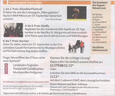 inDüsseldorf, Ausgabe 8/2016