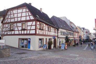 Fußgängerzone Heppenheim