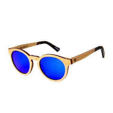 Sonnenbrille Holz Rund Birne 2018