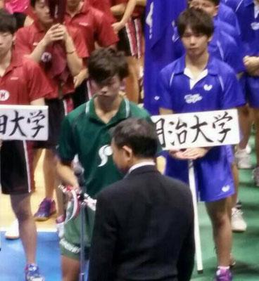 殊勲賞の田添 健汰
