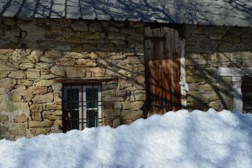 Neige à Ancelle dans le Champsaur