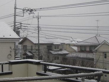 雪風景あざみ野