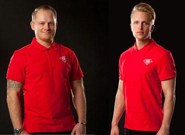 Daniel Kreutzer (links) und Danny Beckers übernehmen Hockey-Athletiktraining