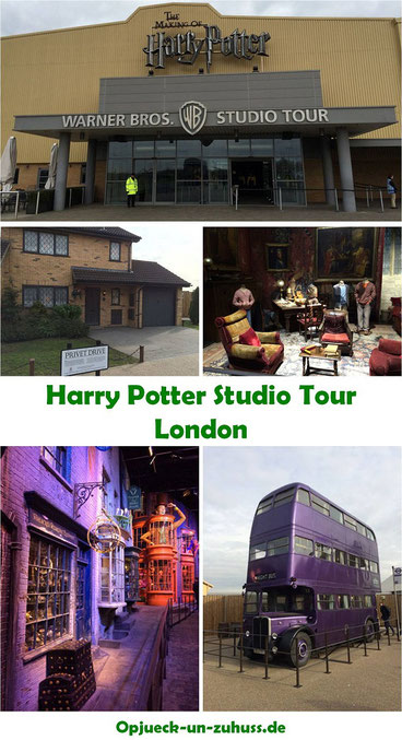 Erfahrungsbericht Harry Potter Studio Tour London