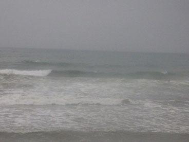 18:30 雨できれいに撮れませんでした十分乗れる波ですね!