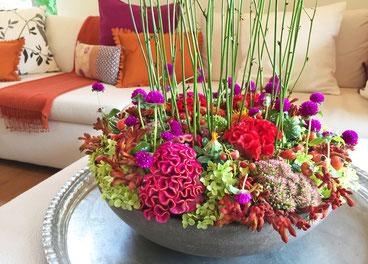 Blumen im Alltag