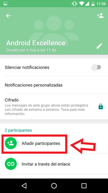 Invitar Contactos A Un Grupo De WhatsApp Añadiendo Participantes