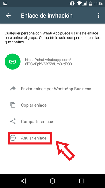 Invitar Contactos A Un Grupo De WhatsApp Mediante Enlace