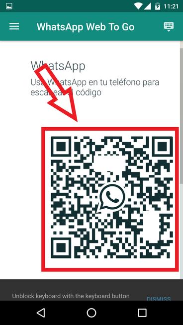 WhatsApp Web Usando Una Aplicación En Android