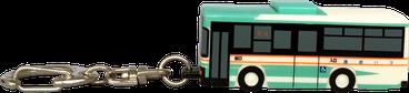 キーライト バス型 側面